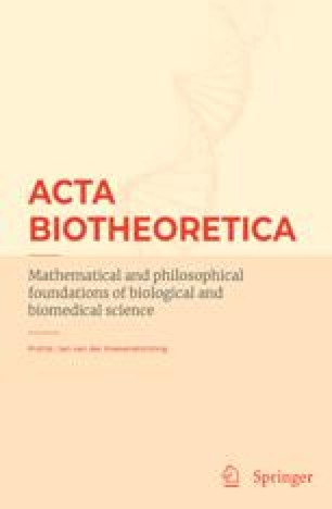 Resultado de imagen para Acta Biotheoretica