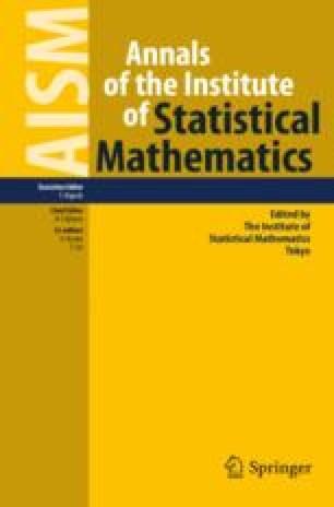 Annals of the Institute of Statistical Mathematics