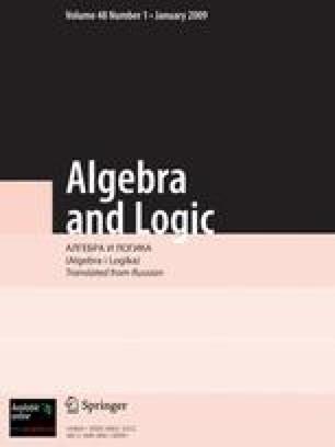 Algebra and Logic