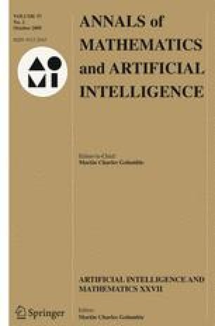 Annals of Mathematics and Artificial Intelligence - Springer