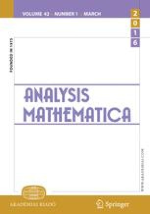 Analysis Mathematica