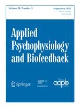 Biofeedback and Self-regulation
