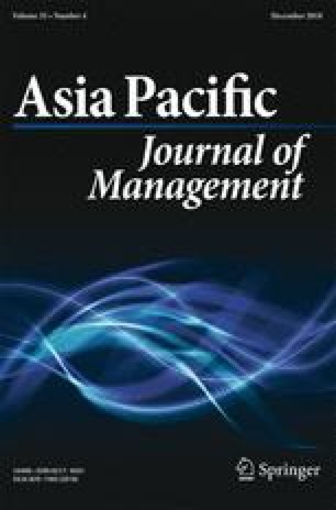 Asia Pacific Journal of Management - Springer