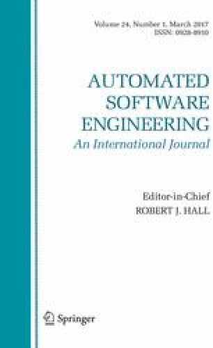 Automated Software Engineering - Springer