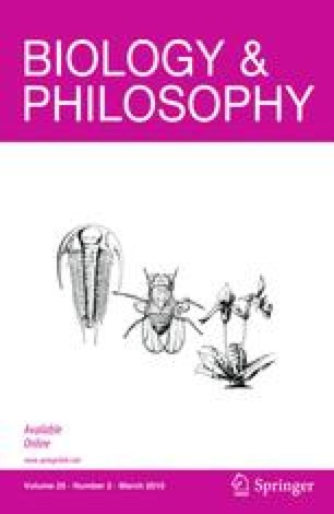Biology & Philosophy