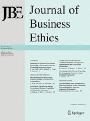 general causal models in business ethics an essay on colliding  general causal models in business ethics an essay on colliding research  traditions
