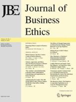 Deepening Ethical Analysis in Business Ethics | SpringerLink