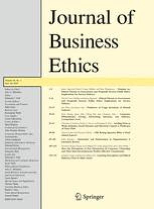 journal of business ethics pdf