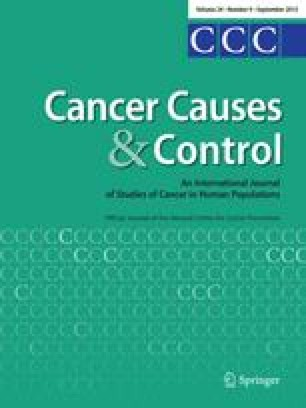 Is Diabetes Mellitus A Risk Factor For Ovarian Cancer A Case Control Study In Utah And Washington United States Springerlink
