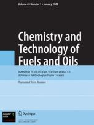 Chemistry and Technology of Fuels and Oils