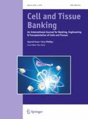 Regulatory aspects of tissue donation, banking and