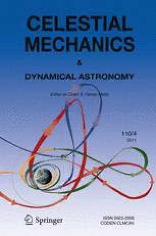Celestial Mechanics and Dynamical Astronomy