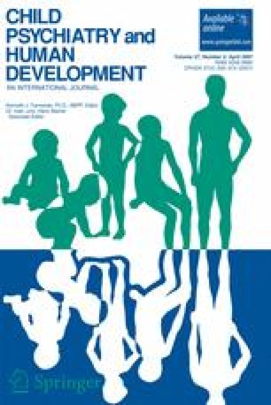 child psychiatry and human development pdf