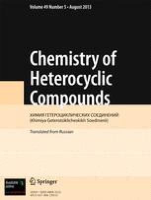 Chemistry of Heterocyclic Compounds