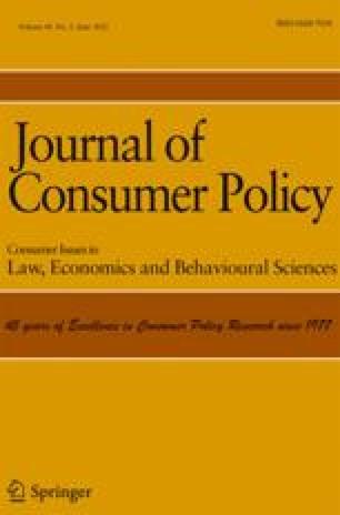 Zeitschrift für Verbraucherpolitik