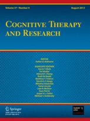 Cognitive Bias And Irrational Beliefs In Major Depression