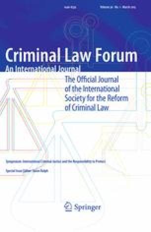 Criminal Law Forum - Springer