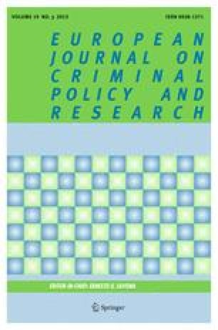 European Journal on Criminal Policy and Research
