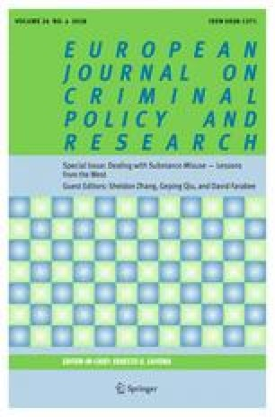 Lessons to be Drawn from U S  Drug Control Policies