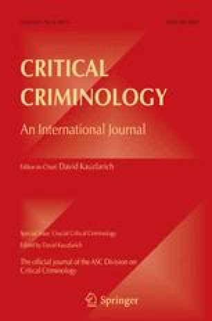 Crime Criminology And Human Rights Towards An Understanding Of