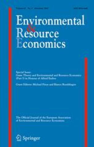 Environmental and Resource Economics - Springer