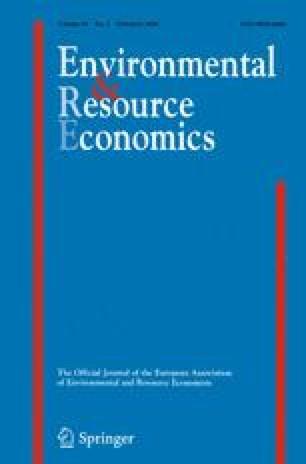 Environmental and Resource Economics