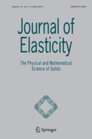 Journal of elasticity and the physical science of solids
