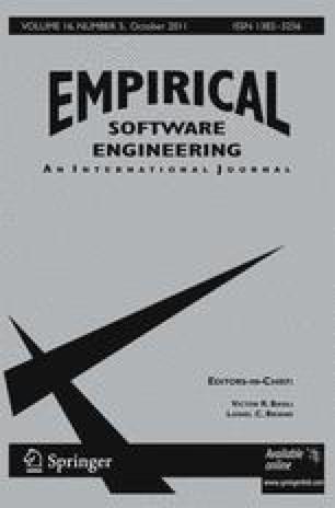 Empirical Software Engineering - Springer