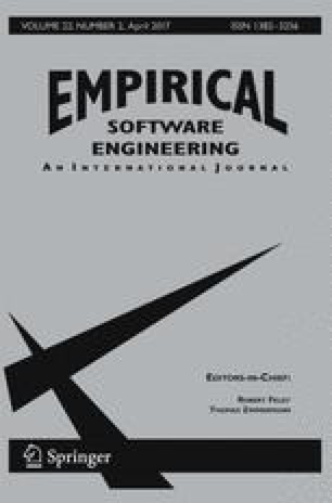 Empirical Software Engineering - Springer