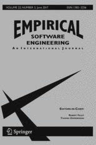 Empirical Software Engineering