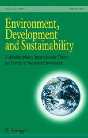 Environment, Development and Sustainability - Springer