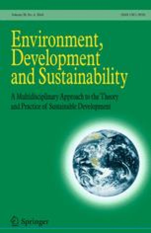 Environment, Development and Sustainability