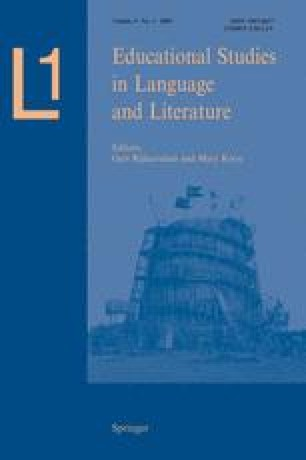 L1-Educational Studies in Language and Literature
