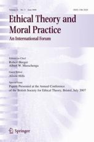 ethics theory and business practice