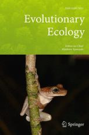 Evolutionary Ecology