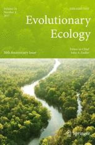 Evolutionary Ecology