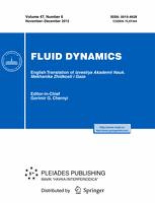 Nonlinearwaves in a liquid film-gas flow system | SpringerLink