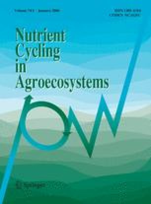Environmental effects of N fertilizer use — An overview