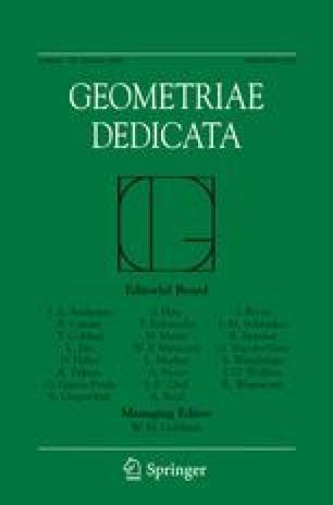 Geometriae Dedicata