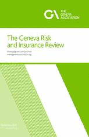 The Geneva Risk And Insurance Review Springer