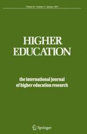 Quantitative studies of student self-assessment in higher