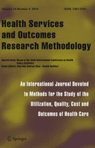 Health Services and Outcomes Research Methodology - Springer