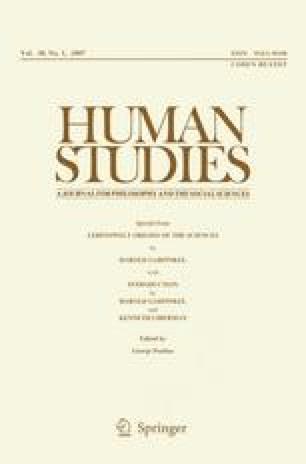 harold garfinkel ken liberman human studies 2007 pdf