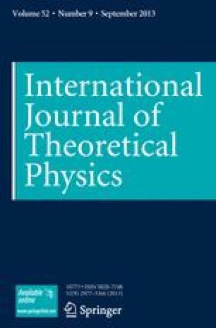 International Journal of Theoretical Physics