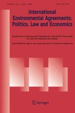 International Environmental Agreements: Politics, Law and Economics