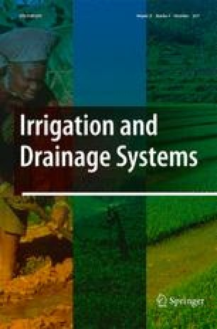 Irrigation and Drainage Systems