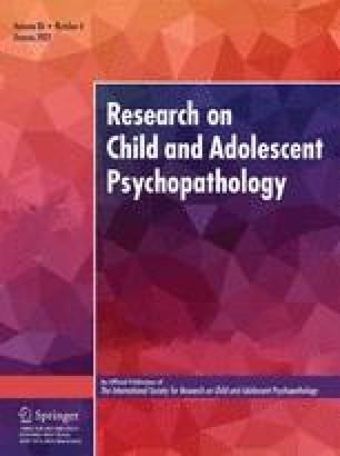 Journal of Abnormal Child Psychology