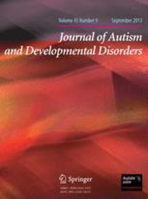 Journal of autism and childhood schizophrenia
