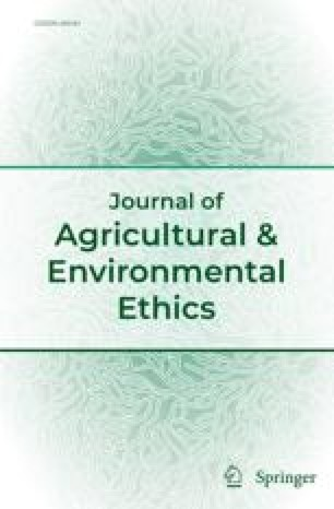 Journal of agricultural ethics