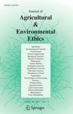 environmental ethics research paper